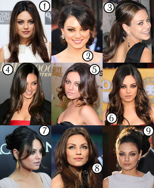 Mila Kunis: Her Best Hair?