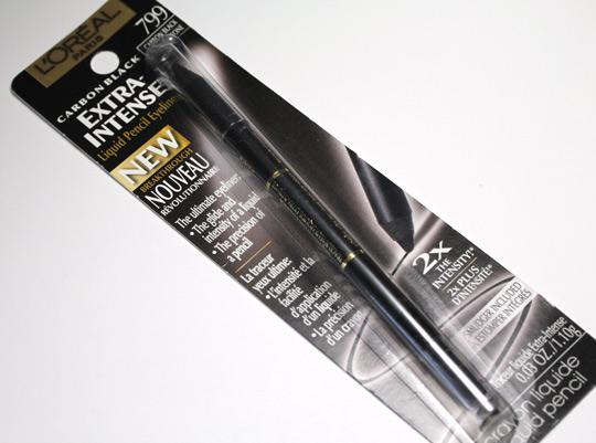 L'Oreal Extra-Intense Carbon Black Liquid Pencil Eyeliner