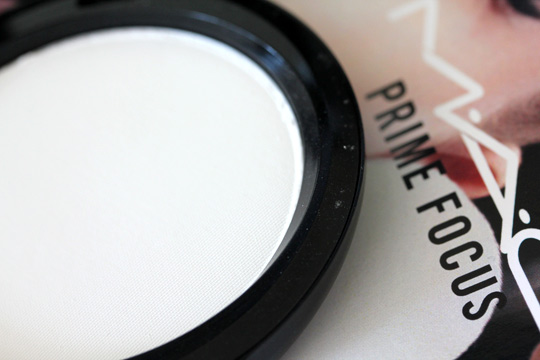 mac prep prime transparent finishing powder pressed