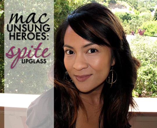 MAC Unsung Heroes: Lipglass in Spite - Makeup and Beauty Blog
