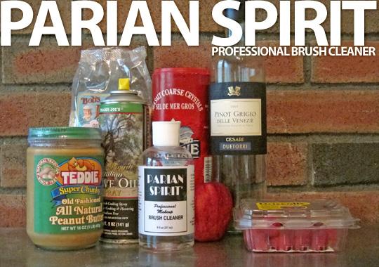 Parian Spirit Professional Makeup Brush Cleaner