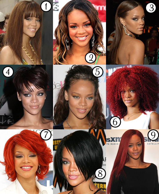 Rihanna: Her Best Hair?