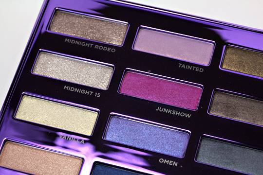 urban decay 15-year anniversary eyeshadow collection