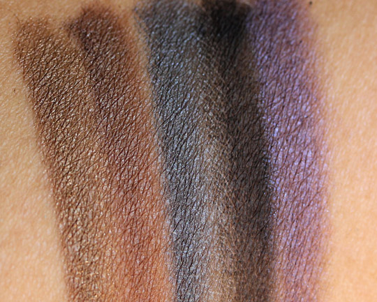 urban decay 15-year anniversary eyeshadow collection swatch 3