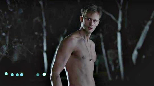 Shirtless Vampire Eric