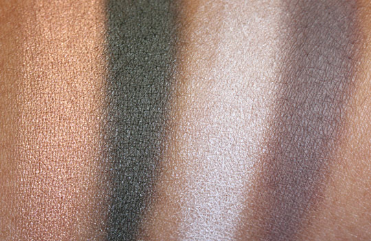 bare minerals ready swatches paradise found perfect storm