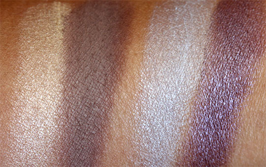 bare minerals ready swatches promise showstopper