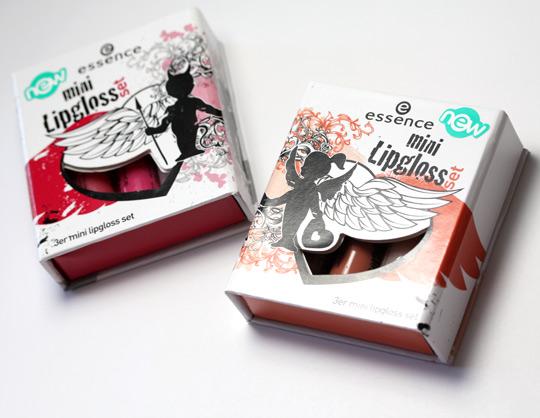 essence mini lipgloss set boxes
