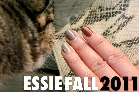 essie brand new bag fall 2011