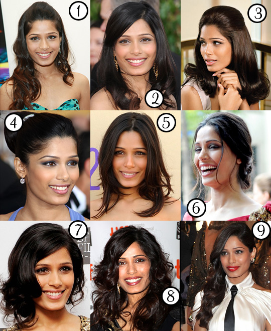Freida Pinto: Her Best Hair?
