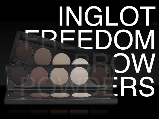 Inglot Freedom Brow Powders