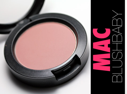 Two Ways to Win a Pan of MAC Blushbaby Blush - Makeup and Beauty Blog