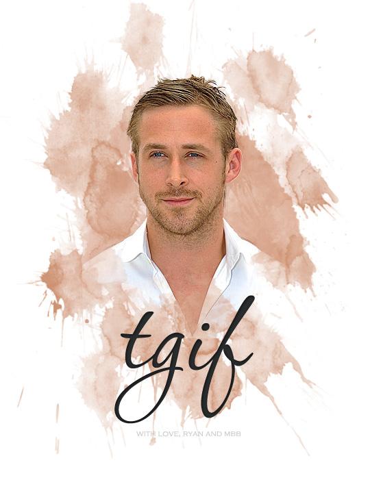 TGIF from Ryan