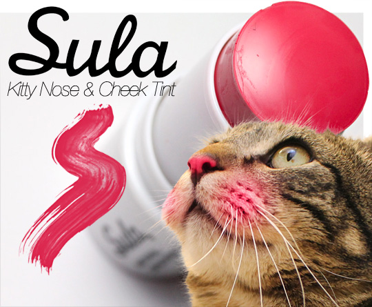 Tabs for the Sula Beauty Nose & Cheek Tint