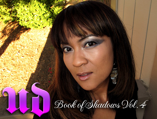 Urban Decay Book of Shadows Volume 4 FOTD