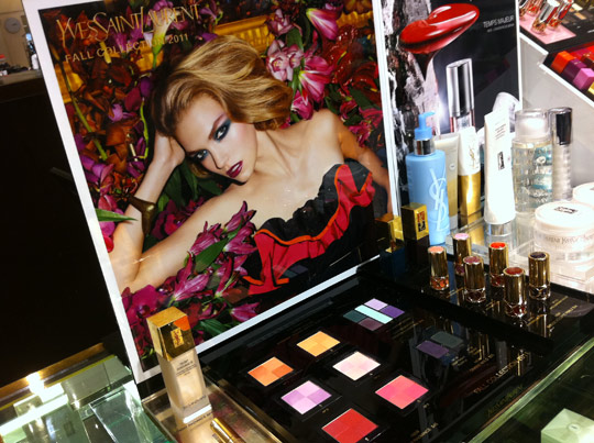 ysl midnight garden fall 2011