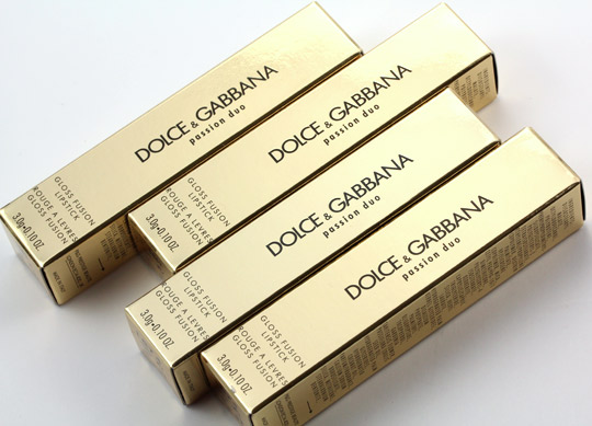 I think Dolce & Gabbana's gloss-filled goodies are noticeably shinier, ...