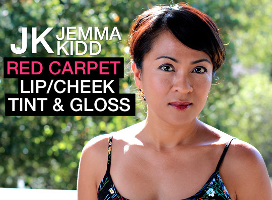 jk jemma kidd red carpet lip cheek tint & gloss