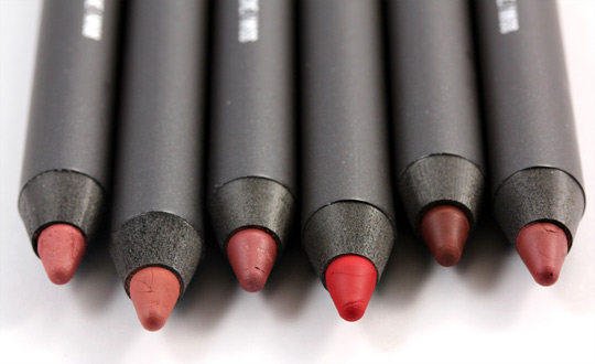mac style driven pro longwear lip pencils