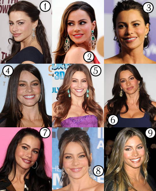 Sofia Vergara: Her Best Hair?
