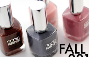 Sonia Kashuk Fall 2011 Nail Colour
