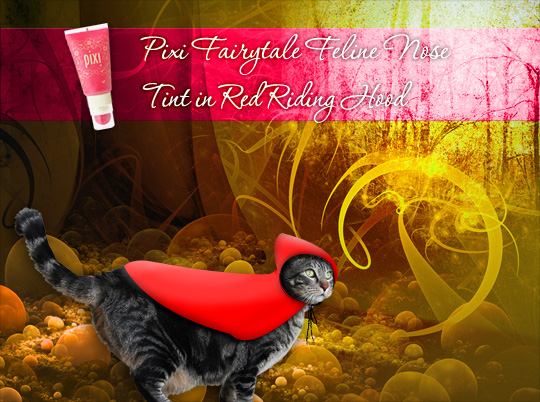 Tabs for Pixi Feline Nose Tint in Red Riding Hood