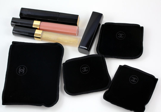 Chanel Collection Les Scintillances De Chanel pouches