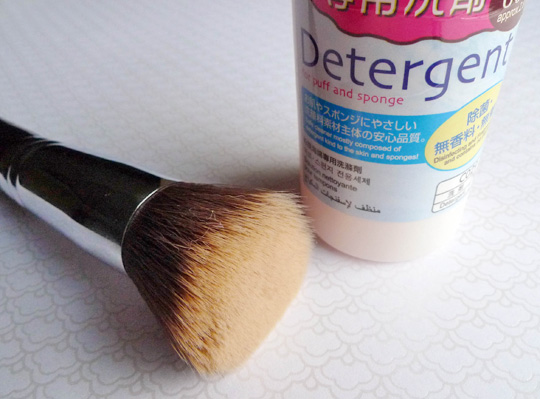 Deep Clean the Sigma F80 Flat Top Kabuki Brush