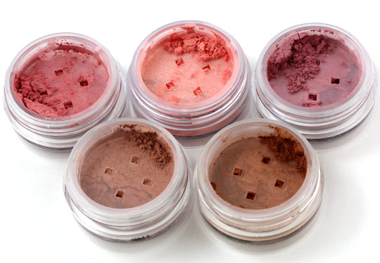 The Powders in the Bare Minerals bareEscentuals Oh La Luxe Holiday ...