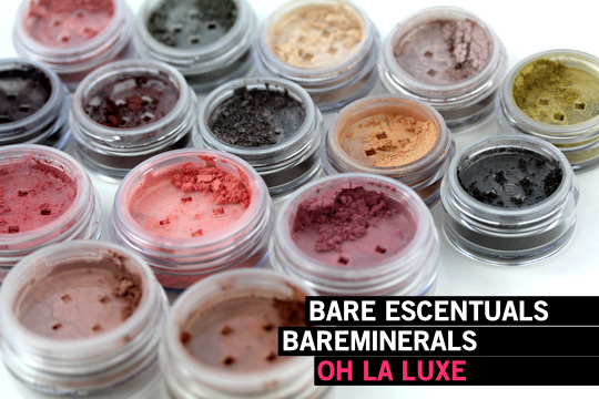 Even Unwrapped, the Bare Escentuals bareMinerals Oh La Luxe Kit Looks Like a Present - Makeup and Beauty Blog