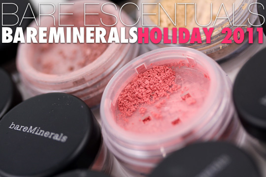 Bare Escentuals bareMinerals Holiday 2011 Swatches: This Box of Gems Has Things That Make You Glow - Makeup and Beauty Blog