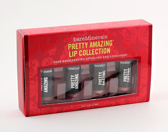 bare minerals pretty amazing lip collection box
