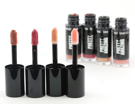 bare minerals pretty amazing lip collection wands