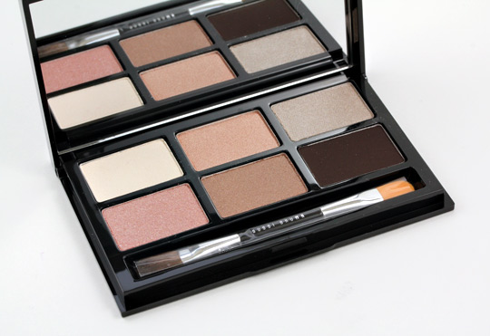 bobbi brown holiday 2011 party eye palette open