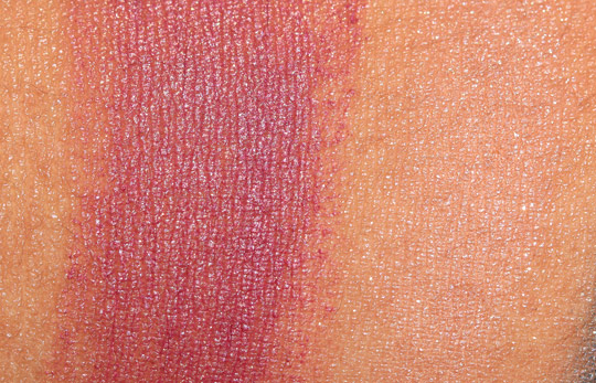 nars holiday 2011 swatches g spot miss liberty