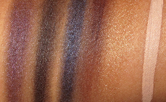 smashbox holiday 2011 swatches (4)