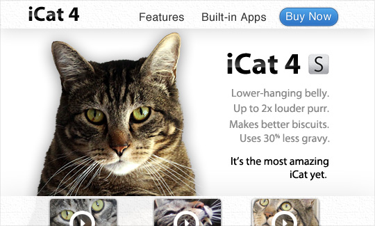 Tabs for the iCat 4S