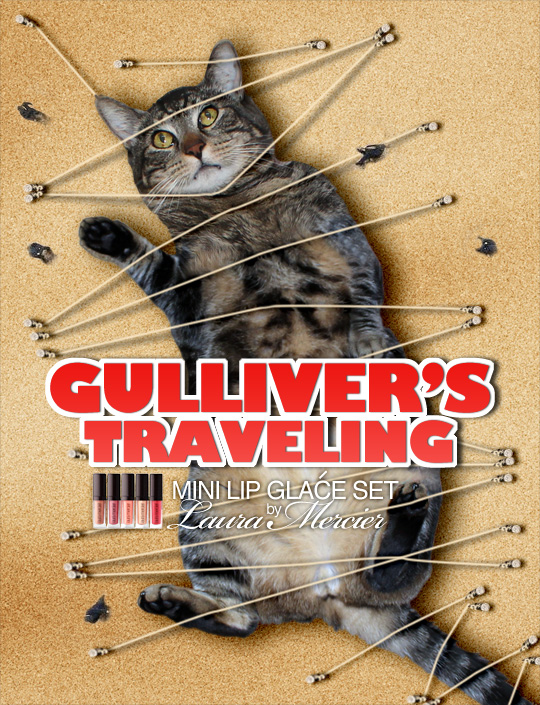 Tabs for Laura Mercier Gulliver's Traveling Lip Glace