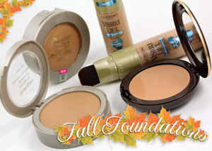 A Few Fab Fall Foundations