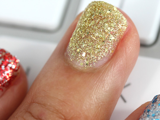 china glaze eye candy blonde bombshell