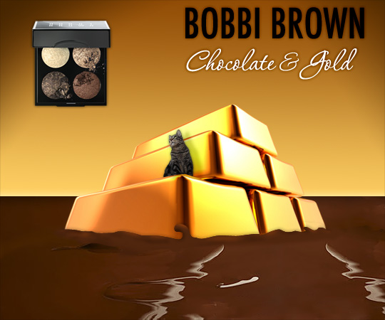 Tabs for Bobbi Brown Chocolate and Gold