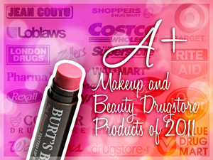 A+ Drugstore Makeup and Beauty Products of 2011