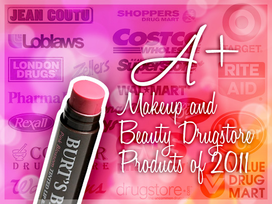 Best Drugstore Makeup and Beauty Products of 2011