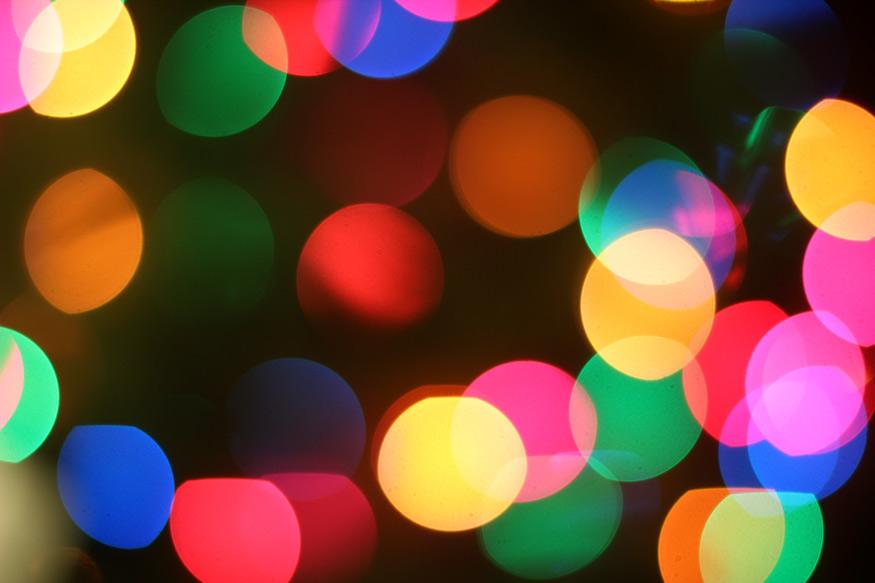 Christmas Lights: Rainbow Colors - Makeup and Beauty Blog
