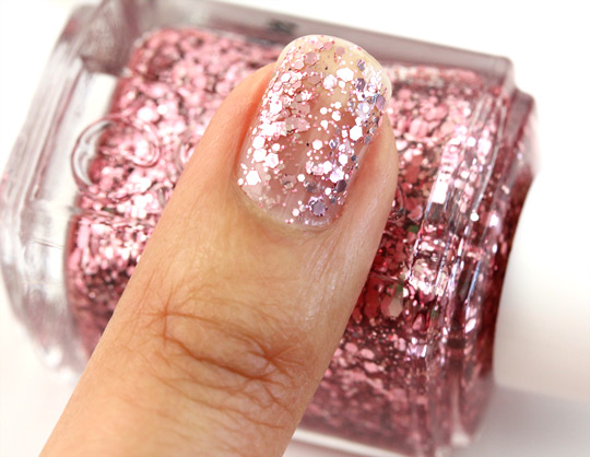With the Essie Luxeffects Collection, Glitter Is a Shine ... Essie A Cut Above Alone