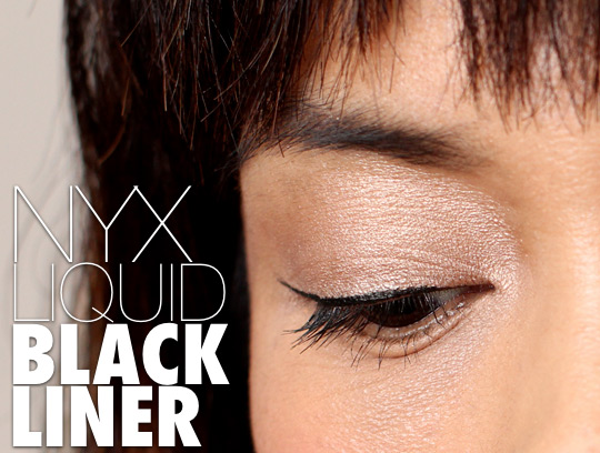NYX liquid black liner (3)