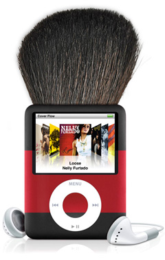 The almost real iPod Brush