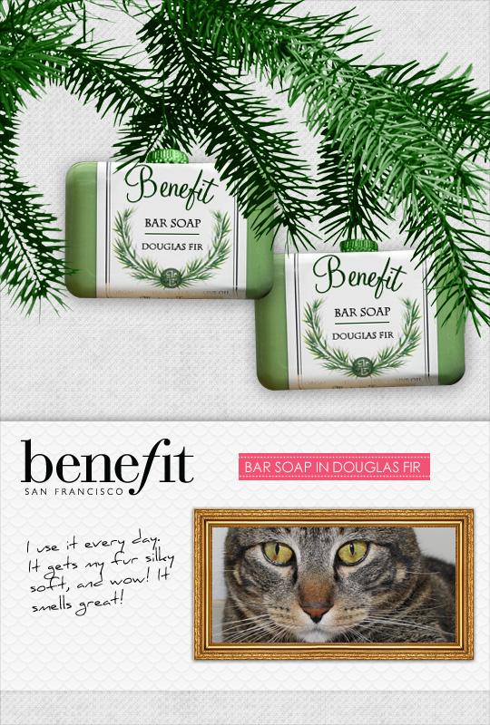 Tabs for Benefit Bar Soap in Douglas Fir