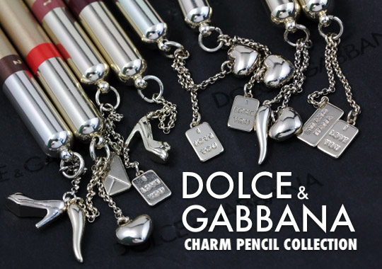 dolce & gabbana charm pencil collection (6)