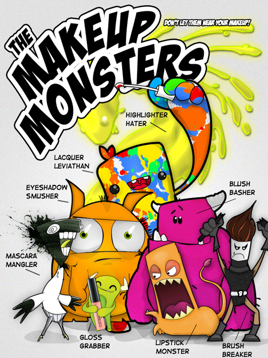 The Makeup Monsters